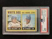 1967 Topps White Sox Rookies Williams Stroud 598 Psa 9 Mint High Series Perfect