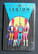1991 Legion Of Superheroes Archive V.1 Hc Sealed / Fisherman Collection