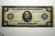 1914 Large Size Federal Reserve Note - Grading Very Fine Stock C16118504a