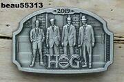 Harley Davidson Owners Group Hog Chapter Officers 2019 Pewter Founders Pin