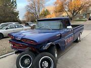 1961 Chevy Apache 10 Truck Wrecked Sell As Complete For Parts