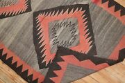 Antique Native American Navajo Kilim Rug Size 3and0393and039and039x5and0394and039and039