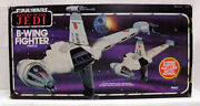 Vintage Star Wars Rotj Vehicles Boxed B-wing Fighter - Mib C6 Decals Unapplied