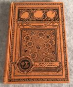 Antique Us United States History Hardcover Book