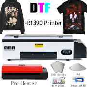 Procolored Dtf Flatbed Printer T-shirt Personal Diy Printing With Pre-heater
