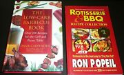 2 Bbq Recipes Books The Low Carb Barbecue Book + Rotisserie And Bbq Recipe Collec