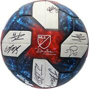 Toronto Fc Signed Mu Ball - 2019 Cup Final Vs Seattle Fc On 11/10/19 And 23 Sigs