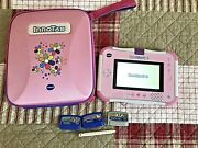 Vtech Innotab 3 S With 3 Games And Vtech Carry Case Pink