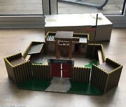 Vintage 1970and039s Tw Toy Works Fort Alamo - Original Box