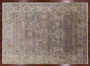 9and039 X 12and039 Oriental Oushak Handmade Area Rug - Q1381
