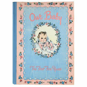 Vintage 1943 Our Baby First Five Years Hardcover Book Journal Whitman Nos Unused