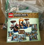 21116 Lego Complete Minecraft Crafting Box Steve 8 In 1 Build Separately Set