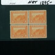 United States Postage Stamp 400a Mint Vf Block Of 4 Catalogue Value 1720