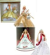 Vintage Special Edition Celebration 2000 And 2001 Barbie Doll Lot Brand New