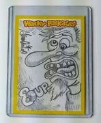 Wacky Packages All New Series 11 2013 Sketch Card Sam Gambino