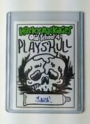 Wacky Packages Sketch Card Old School 4 Sara Martin 2012