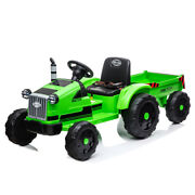 Toy Vehicles Tractor With Trailer,3-gear-shift Ground Loader Ride On With Led