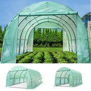 Portable Steel Greenhouse Larger Walk-in Hot Green House Outdoor Plant Gardening