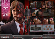Dhl Express Hot Toys 1/6 The Dark Knight Mms546 Two Face Harvey Dent Figure