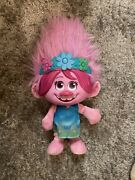 Trolls World Tour Color Poppin Poppy Doll Sings And Lights Up