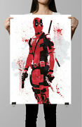 Deadpool Comic Poster Poster-color Poster-sports Poster -poster Print