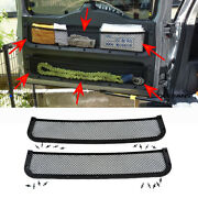 Rear Trunk Tail Door Toolbox Pocket Cage Storage Net For Toyota Fj Cruiser 06-20