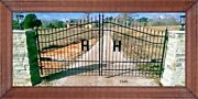 Driveway Gate 13and039 Ft Wd Ds Steel Inc Post Package Yard Outdoor Home Security