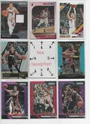Miami Heat Serial And039d Rookies Jerseys Autos Every Card Is A Good Card Finals