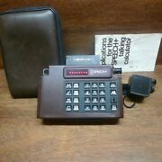 Tsi Speech+ First Speaking Ultra Rare Vintage Calculator Works Perfectly