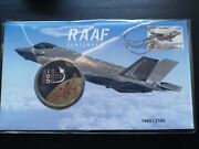 Raaf Centenary Stamp And Medallion Cover Only 2100 Made In Stock Now Sold Out