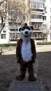 Meerkat Mongoose Mascot Costume Cosplay Party Game Dress Outfit Halloween Fancy
