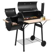 Oil Drum Charcoal Furnace Burner Cooker Outdoor Camping Stove Picnic Bbq Grill