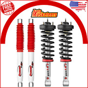 Quicklift Struts And Shock Absorber Pair Front And Rear For Chevrolet Silverado