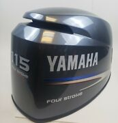 68v-42610-12-00 Yamaha 2002 And Up Top Engine Cover Cowl Hood 115 Hp New Take Off