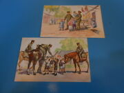 Ww2 Former Japanese Army Postcards / 2 Types Free Shipping From Japan  M5080