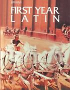 Jenneyand039s First Year Latin Hardcover By Jenney Charles Acceptable Condition...
