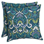 Outdoor Throw Pillows 2-pack Square Patio Furniture Accent Backyard Decor