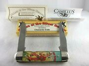 Camillus Red Ryder Riders Of The Silver Screen Large Equal End Jack Knife