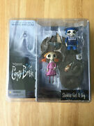 Not Mint Mcfarlane Corpse Bride Series 1 Skeleton Girl And Boy Action Figure