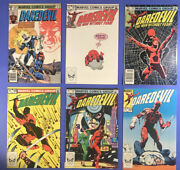 Daredevil 160, 187, 188, 189, 197, 200 Comic Lot 1978-83 Two Newsstand Ed's.