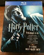 Harry Potter Blu-ray Set Years 1-7 7 Disc Set In Box 41721