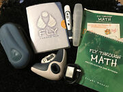 Fly From Leap Frog - Large Lot Of Items - Pen, Math, Charger And Hard Shell Case
