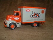 Brand New Vintage 1953 Ford Tractor Golden Jubilee Dry Van Truck- First Gear