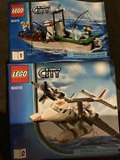 Lego 60015 City Boat Manual Instructions Only- No Pieces Included Replacement