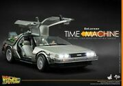 Hot Toys Mms260 1/6 Scale Back To The Future Delorean Time Machine Mint