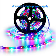 16.4ft Flexible 3528rgb Led Smd Strip Light Remote Fairy Light Room Tv Party Bar
