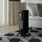 Adjustable Electric Radiator Heater With Remote Control And 12 Hours Timer New