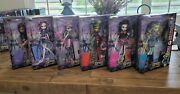 Monster High Scaris City Of Frights Set 6 Catrineclawdeenfrankiejinafirersk