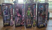 Monster High Scaris City Of Frights 4 Set Deuce Ghoulia Abby Draculaura