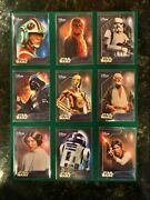 Promo Card Set Disney Store 2014 Star Wars Series Complete Set Of All 9 Cards